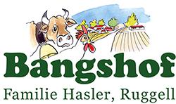 Frisch vom Bauernhof – Hofladen, Gastronomie, Buurazmorga | Bangshof, Ruggell Logo