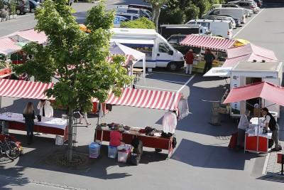 Bangshof am Buchser Freitagsmarkt