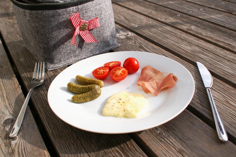 Raclette Käse vom Bangshof von Ruggell in Liechtenstein