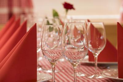 Weihnachtsessen oder Adventsfeier auf dem Bangshof in Ruggell in Liechtenstein
