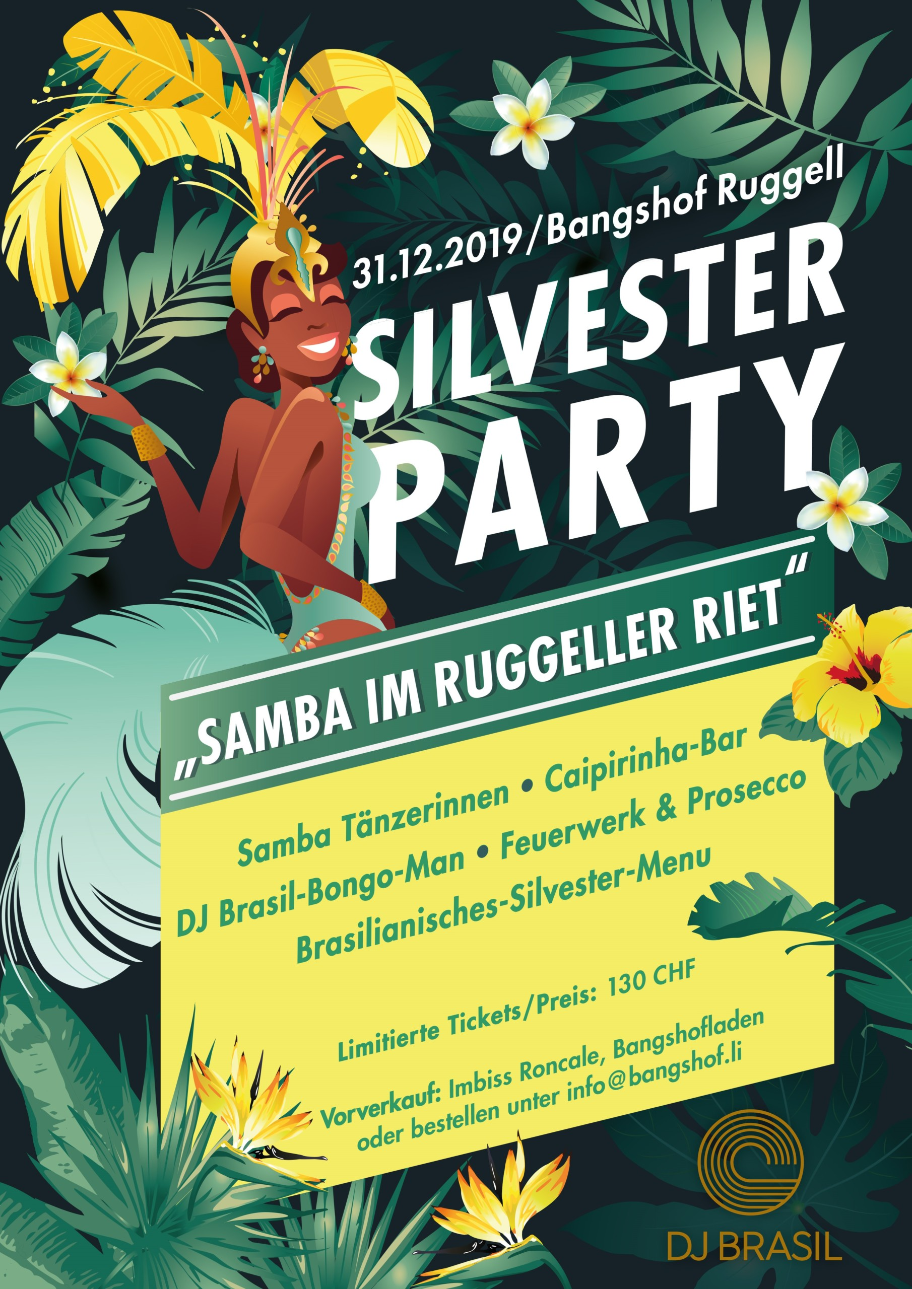 Silvester Party auf dem Bangshof Ruggell